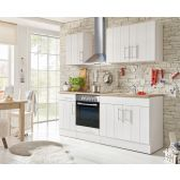 Meister Premium Landelijke keuken wit 210cm breed