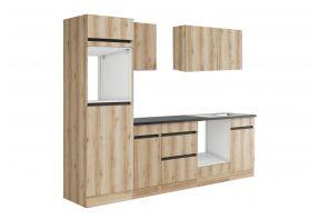 OPTIfit KAYA 2762OE keuken - Wild eiken - 270cm