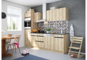 OPTIfit KAYA 2762E keuken met apparatuur - Wild eiken - 270cm