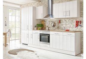 Landelijke keuken meister in wit met hout