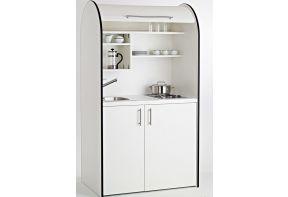 Kitchenette Art-Case Color Line - met koelkast en roldeur
