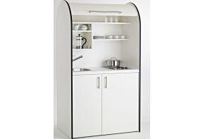 Kitchenette Art-Case Color Line - met koelkast en roldeur
