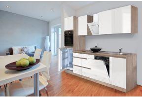 Greeploze keuken Meister 280 cm eiken incl. apparatuur (