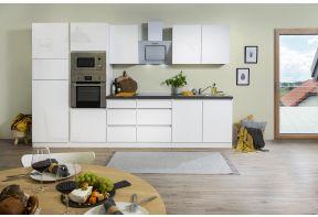 Complete keuken Meister 330cm in hoogglans wit