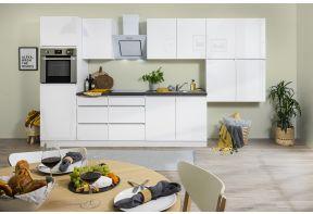 Greeploze keuken Meister 370 cm wit incl. apparatuur