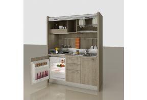 Spazio mini keuken in eiken