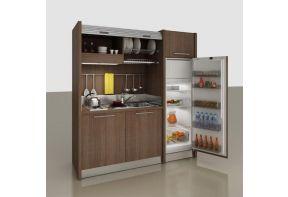 Spazio pantry keuken met ruime koelkast