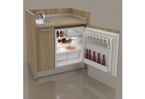 Spazio pantry met koelkast