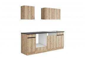 OPTIfit KAYA 213OE keuken - Wild eiken - 210cm