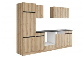 OPTIfit KAYA 2702OE keuken - Wild eiken - 270cm