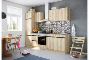 OPTIfit KAYA 2742E keuken met apparatuur - Wild eiken - 270cm