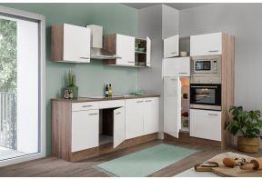 Parallel keuken of hoekkeuken Meister New York 330cm incl. apparatuur