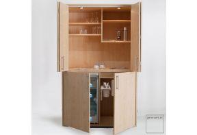 Kitchenette Art-Case Design Line met koelkast-08
