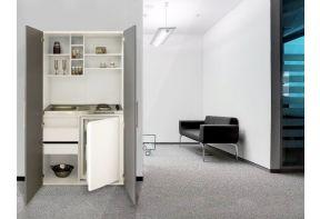 Kitchenette Meister 10C kastkeuken met kookplaat en koelkast