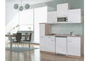 Kleine keuken Meister B180cm eiken met apothekerskast-03