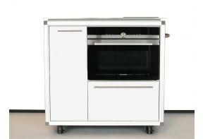Mobiel keukenblok Pro Art met oven en inductie kookplaat