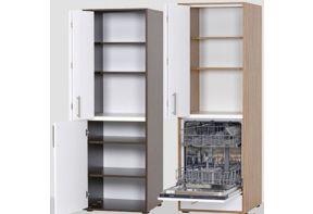 Bijzetkast Art-Case Design Line met vaatwasser-1