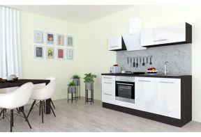 Meister Design keuken hoogglans wit met apparatuur