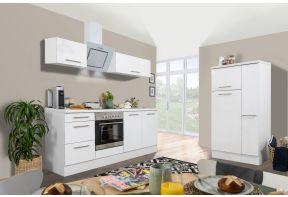 Meister Design witte keuken met klepkasten en veel opbergruimte.