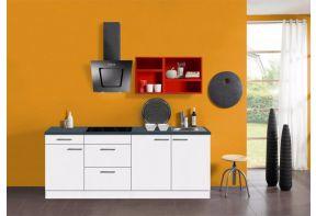 Klick-complete-keuken-afzuigkap-rode-wandkastrekken