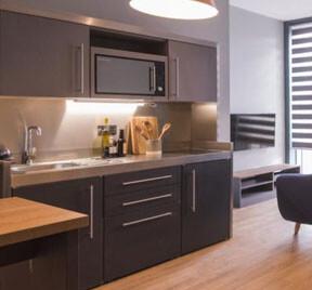 Keuken voor studentenwoning