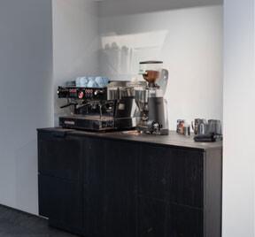 Keuken voor een Koffie corner